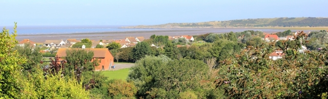 view over Sand Bay from Kewstoke, Ruth's coastal walking