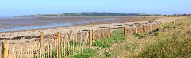 view over Sand Bay from the beach, Ruth's coastal walking in North Somerset