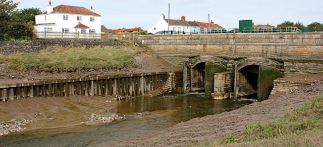 New Clyce Bridge, Burnham on Sea, Ruths coastal walk
