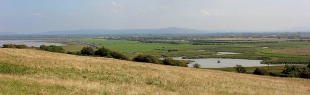 tomorrows walk across Kingston Seymour to Clevedon, Ruth walking in Somerset