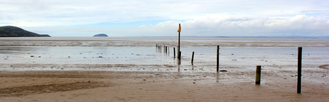 Weston-super-Mare, Ruth's coast walking, an awful lot of mud