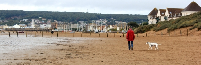 Weston-super-Mare draws nearer, Ruth's coastal walk in Somerset