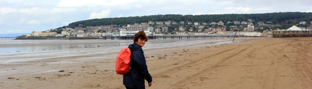 Weston super Mare, Ruth Livingstone, nearly there