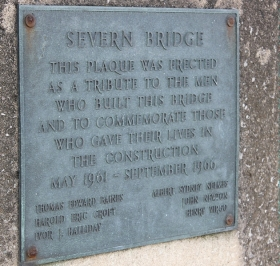 Severn Bridge builders' memorial, Ruth Livingstone