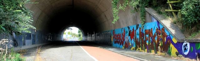 b01 M48 grafitti underpass, Chepstow, Ruth Livingstone