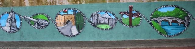 b03 more graffiti, coast path, Chepstow, Ruth Livingstone