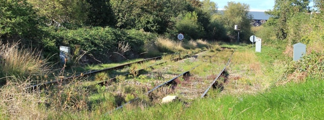 b03 railway lines going somewhere, Avonmouth, Ruth's coastal walk