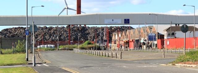 b05 rubbish dumps, Avonmouth, Ruth's coastal walk