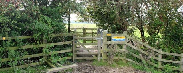 b08 alternative footpath, Ruth's walk in Somerset