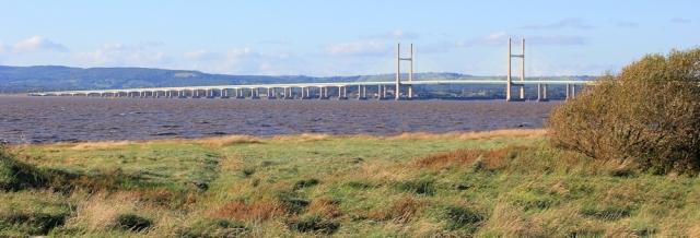 b18 Second Severn Bridge, Ruth's walk