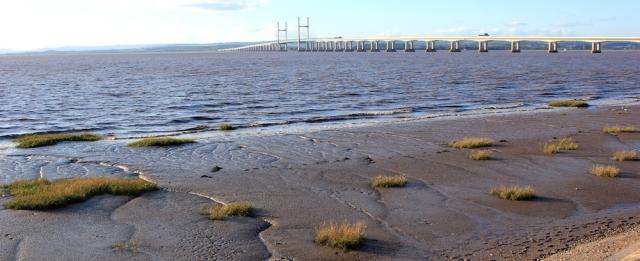 b21 Severn Beach, Ruth's coast walk up the Severn Estuary