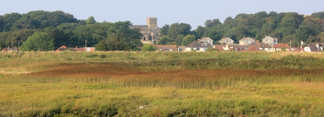 St Andrew's Church, Clevedon, Ruth walks the Somerset coastline