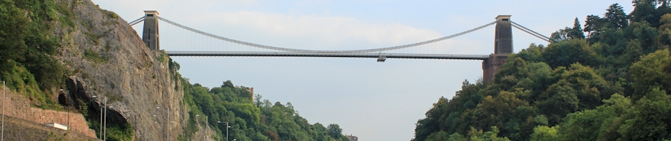 header, Clifton Suspension Bridge, Ruth Livingstone
