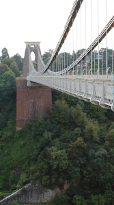 another view of Clifton Bridge, Bristol, Ruth Livingstone
