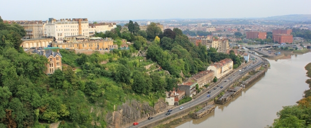 c12 another view from Clifton Suspension Bridge, Ruth Livingstone in Bristol