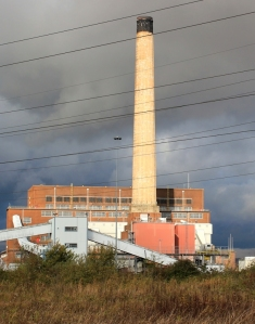Power Station, Newport Wetlands, Ruth's coastal walking