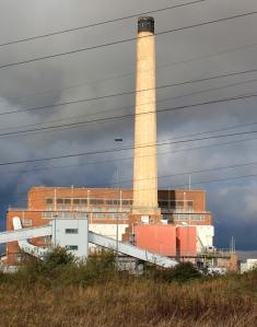 Power Station, Newport Wetlands, Ruth's coastal walking