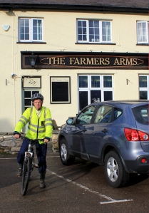 open Farmers Arms, Ruth finds a pub in Wales