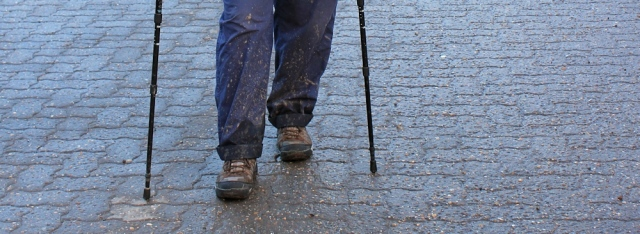 Ruth's muddy trousers