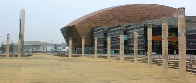 02 Wales Millennium Centre, Ruth's coastal walk, Cardiff