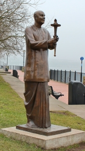 World Harmony Peace Statue, Ruth in Cardiff Bay