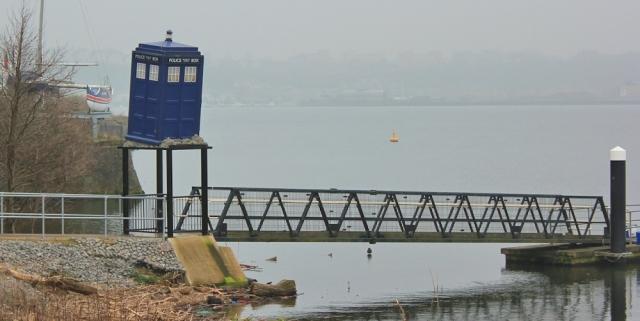 11 Dr Who box, Cardiff Bay, Ruth Livingstone