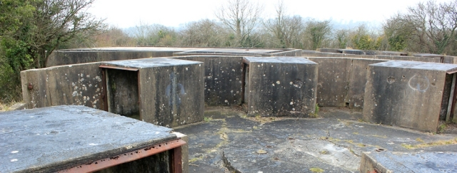 b10 Lavernock Point, anti-aircraft battery, Ruth Livingstone