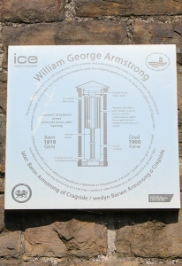 09a William George Armstrong plaque, Ruth Livingstone