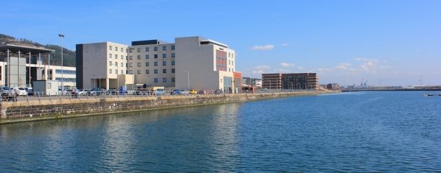 19 redeveloped Prince of Wales Dock, Swansea, Ruth Livingstone,