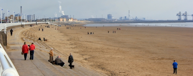 26 Steel works, Port Talbot beach, Ruth Livingstone