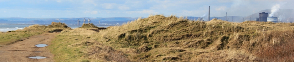 header Kenfig Sands, Ruth on the Wales Coast Path