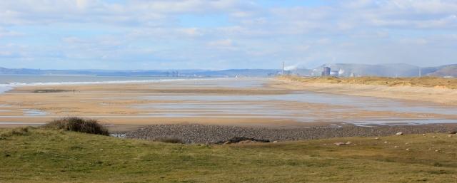 a08 Kenrig Sands and Port Talbot, Ruth's coastal walk through Wales