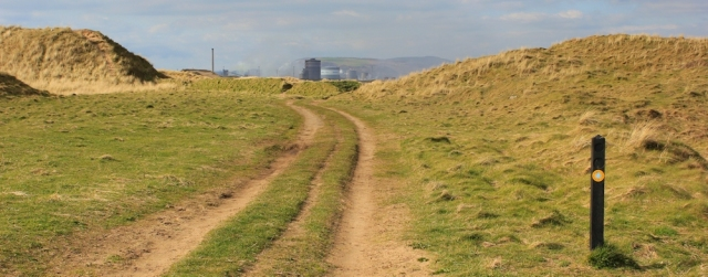 a10 Kenfig Dunes, Ruth Livingstone walking the Wales Coast Path