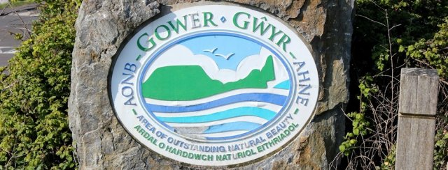 Ruth Livingstone, entering Gower, coastal walking