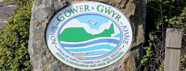 Ruth Livingstone, entering Gower, coastal walking