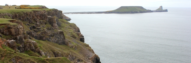 21 Worm's Head, from Rhossili, Ruth Livingstone