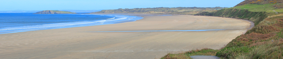header, Rhossili Beach, Ruth Livingstone