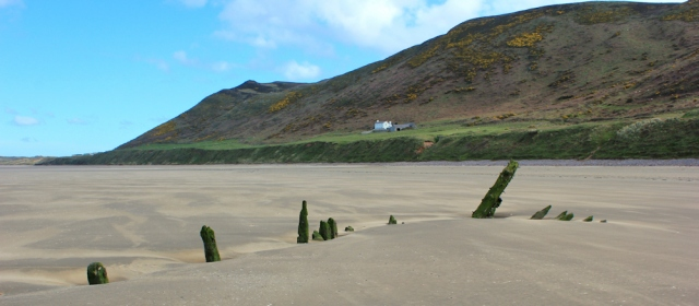 Rhossili Beach, Ruth's coastal walk in The Gower