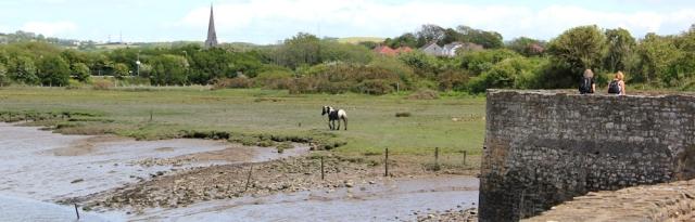 a04 Kidwelly Quay, Ruth on Wales Coast Path