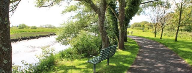 a07 riverside walk, Ruth in Kidwelly
