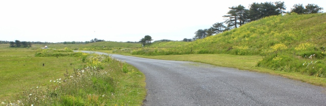 a13 roads in Pembrey Country Park, Ruth Livingstone