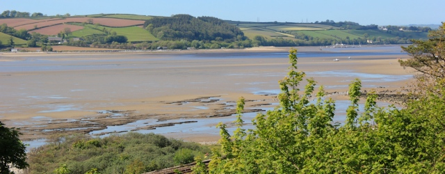 a15 over River Towy, Ruth walking into Ferryside