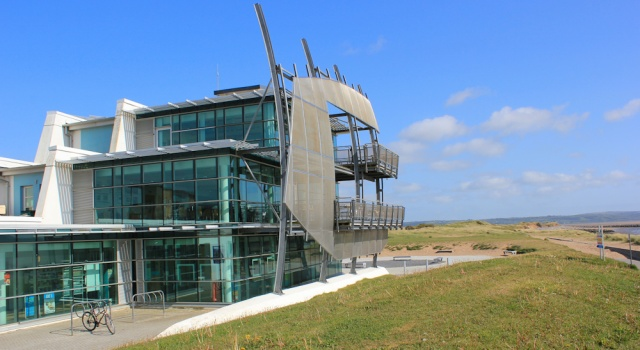 b14 cafe and information building, Seaside, Ruth in Llanelli