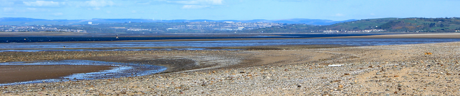 header, Whiteford Sands, Gower, Ruth Livingstone