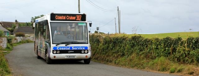 01 Coastal Cruiser, Ruth walking the Pembrokeshire Coast Path