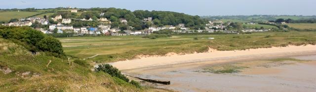 04 Penally, from Giltar Point, Ruth on coast near Tenby