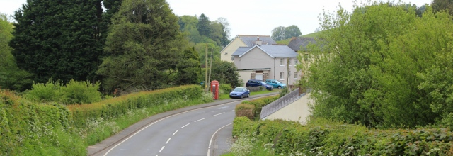 07 on B4312 towards Llansteffan, Ruth Livingstone