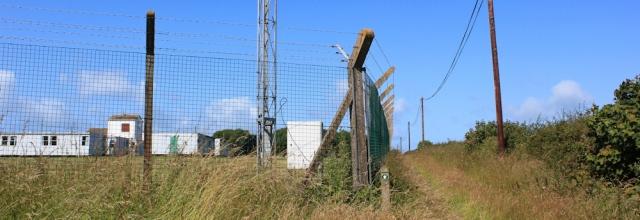 10 walking around Merrion Camp, Ruth Livingstone in Wales