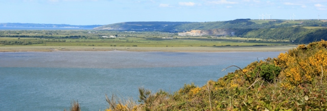 11 Laugharne Burrows and Pendine, Ruth Livingstone in Wales