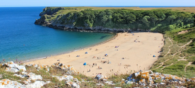 Barafundle Bay, Ruth in Pembrokeshire